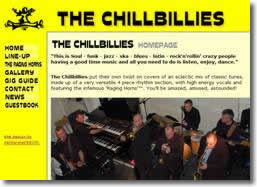 The Chillbillies website by deliberate design, Dover, Maidstone, Thanet, Gillingham,