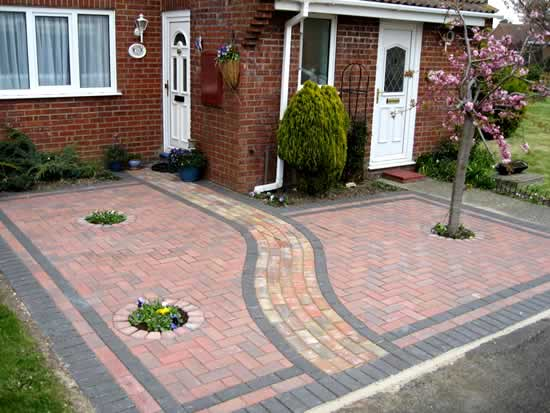 phoenix landscaping and garden design block paving