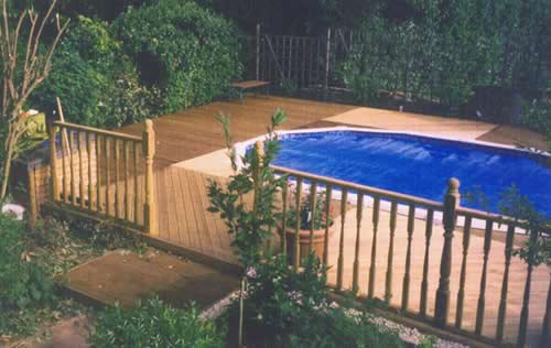 Landscaping and design for Garden decking maidstone